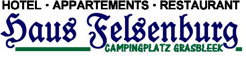 Haus Felsenburg camping Grasbleek  Caravanpas