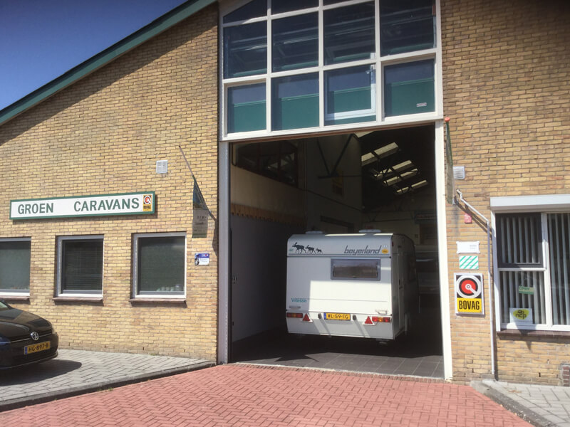 Nationale Caravanpas | Partner Advertentie | Groen Caravans Maassluis